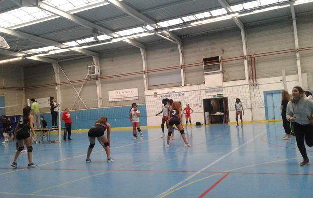 AS Volley semaine du 28 au 1er Avril 2016