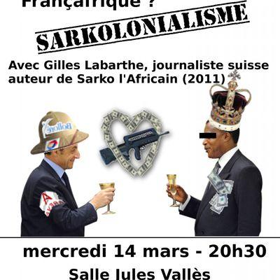 SARKOLONIALISME : une conférence-débat, le 14 mars 2012, à Nantes