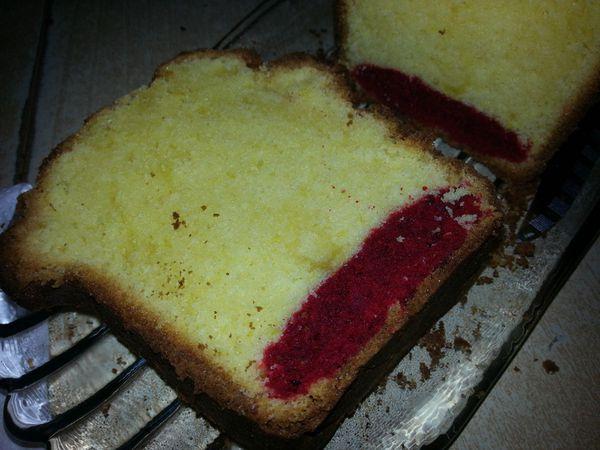 Cake citron-fruits rouges adaptation de la recette de Christophe Michalak - Angel's Kitchen