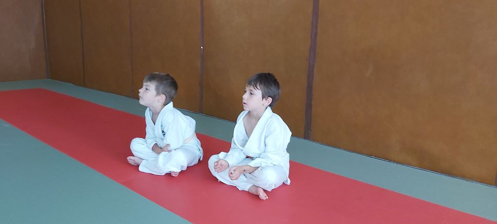 Dernières séances de la saison pour nos jeunes judokas...!