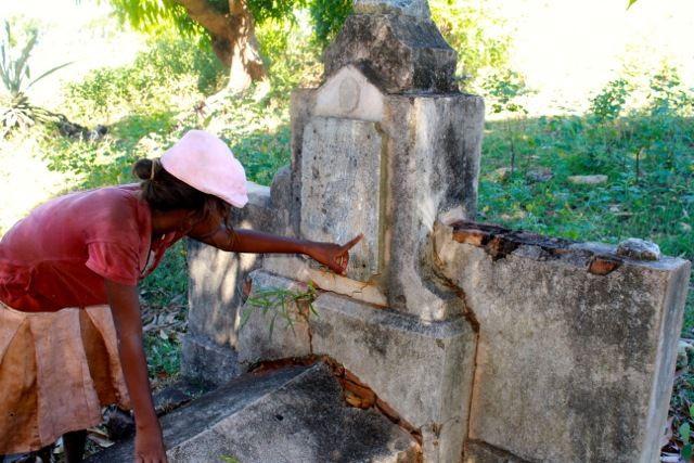 Les cimetières militaires français à Madagascar.