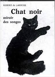Chat Noir Miroir des Songes (Robert de Laroche)