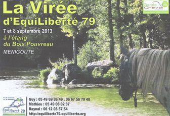 Virée d' Equiliberté 79 à Ménigoute les 7 et 8 septembre 2013