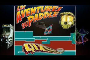 Les Aventures du Paddle - 06 - La Géométrie contre l'abstrait (Qix)