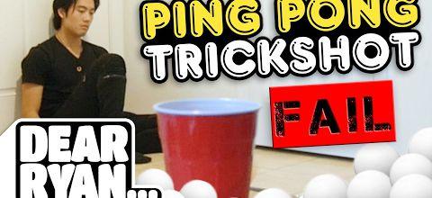 Oh ! Les ping-pong trickshots !