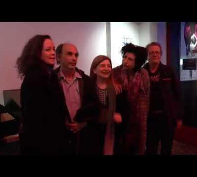 Séance photos avec l'équipe du film La DorMeuse Duval