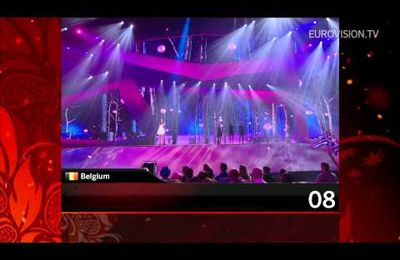 Recap of all the songs from the 1st Semi Final (2012 Eurovision Song)