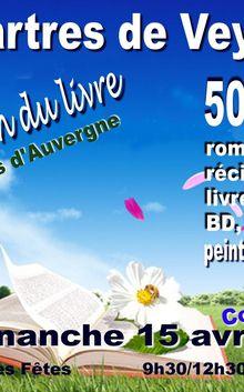 Salon Au fait du livre 2012 aux Martres de Veyre (63) le 15 avril 2012