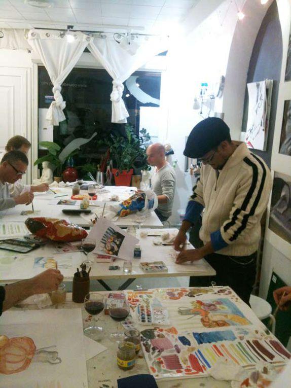 cours de dessin croquis et peinture aquarelle kalam lavis dessin d'observation composition atelier preparatoire