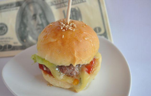 mini burgers (hamburgers maison)