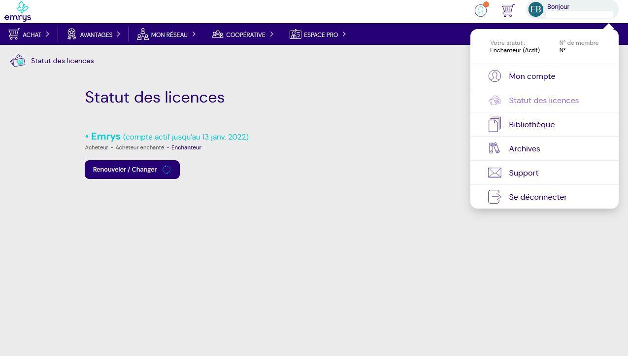 site coopérative statut des licences présentation comment ça marche missbonsplansdunet courses gratuites