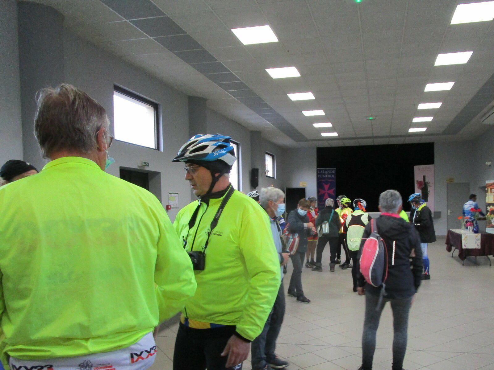 La cocarde Cyclo Saint Laurent