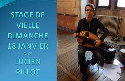STAGE DE VIELLE DIMANCHE 18 JANVIER