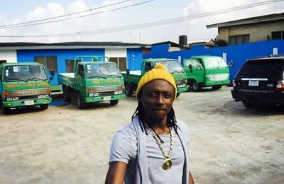 Terry G Shares Photos Of Himself At His Water Factory [See Photo]