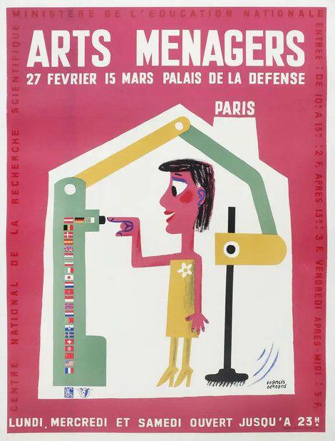 PUBICITES :  LES  GRANDS  NOMS DE  L'AFFICHE :   André  BERNARD.
