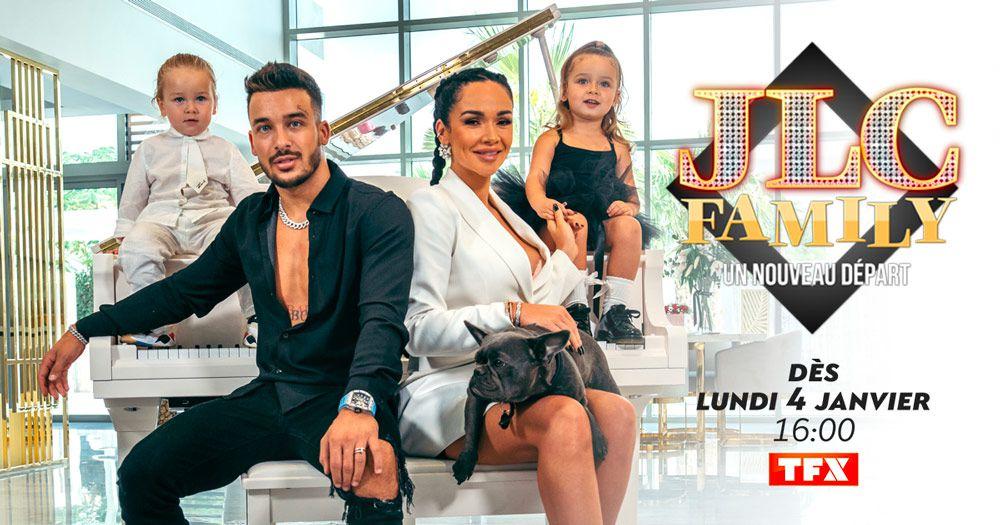 """Coup d'envoi de la saison 3 de """"JLC Family"""" ce lundi sur TFX"""