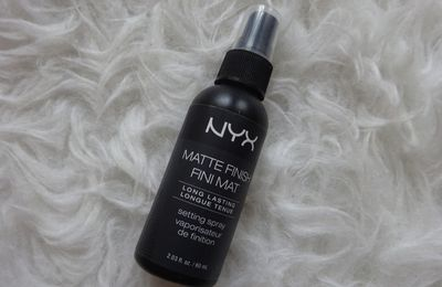 Review: NYX Matte Finish Setting Spray