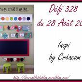 Défi 328 du 28 Août 2017 - Le creablablablog
