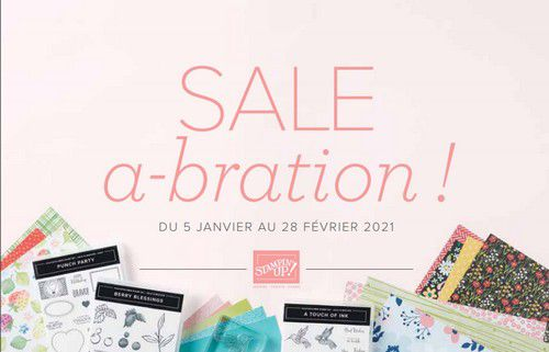 catalogue sale a bration stampin'up
