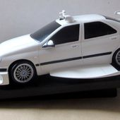 PEUGEOT 406 TAXI 2 RESINE 1/24 SCULPTEUR BOMBYX - car-collector.net