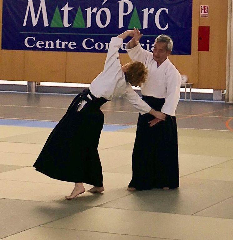 aikido et la fameuse halte-sandwich avant la plage