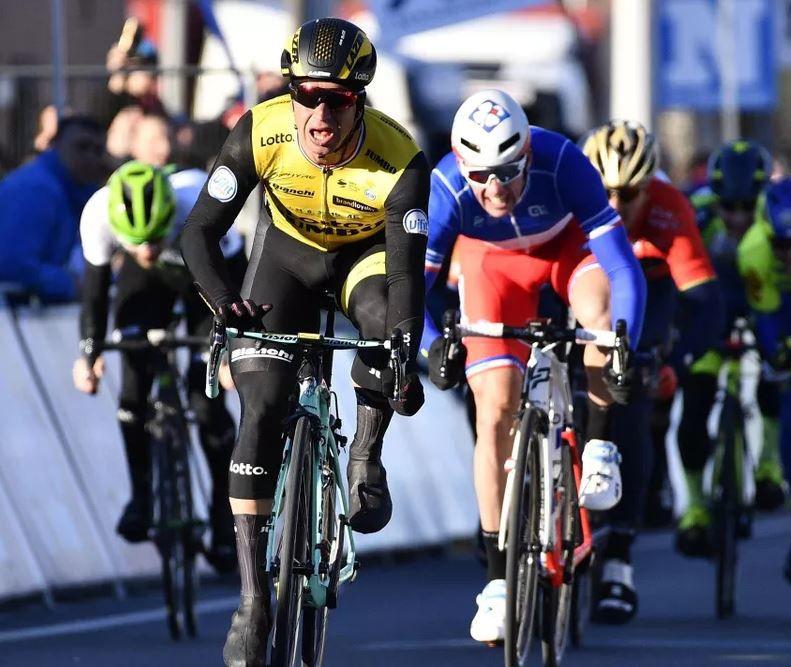 Sur quelle chaîne suivre la course cycliste dit Le Samyn ce mardi ?