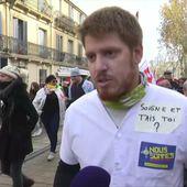 Zoom sur la deuxième journée de grève interprofessionnelle - Le journal de 13h   TF1