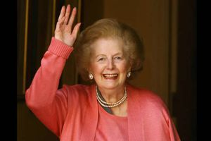 Lady Thatcher, Britain's first female prime minister, dies aged 87