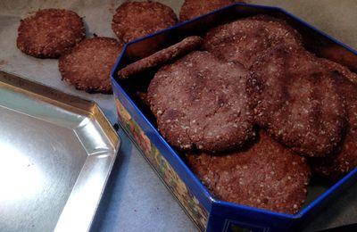 Recette de biscuits pour le petit déjeuner (vegan)