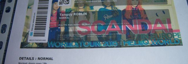 """""""Hello World"""" Tour - SCANDAL et The Shapers"""
