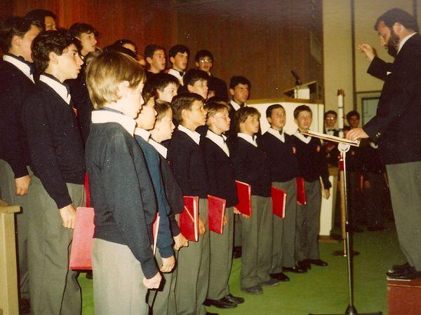 Concert à Myrtle Beach en Juillet 1989 par les Petits Chanteurs de Lyon