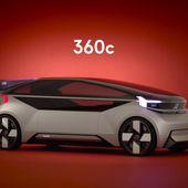Volvo a imaginé un concept-car qui pourrait concurrencer les avions