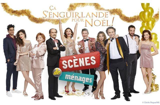 Scènes de ménages ce soir sur M6 : ce qui attend les couples dans Çà s'enguirlande pour Noël.