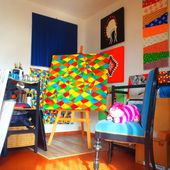 Alice Maynard Art Studio in Toulouse, in a few pictures! - Alice Maynard