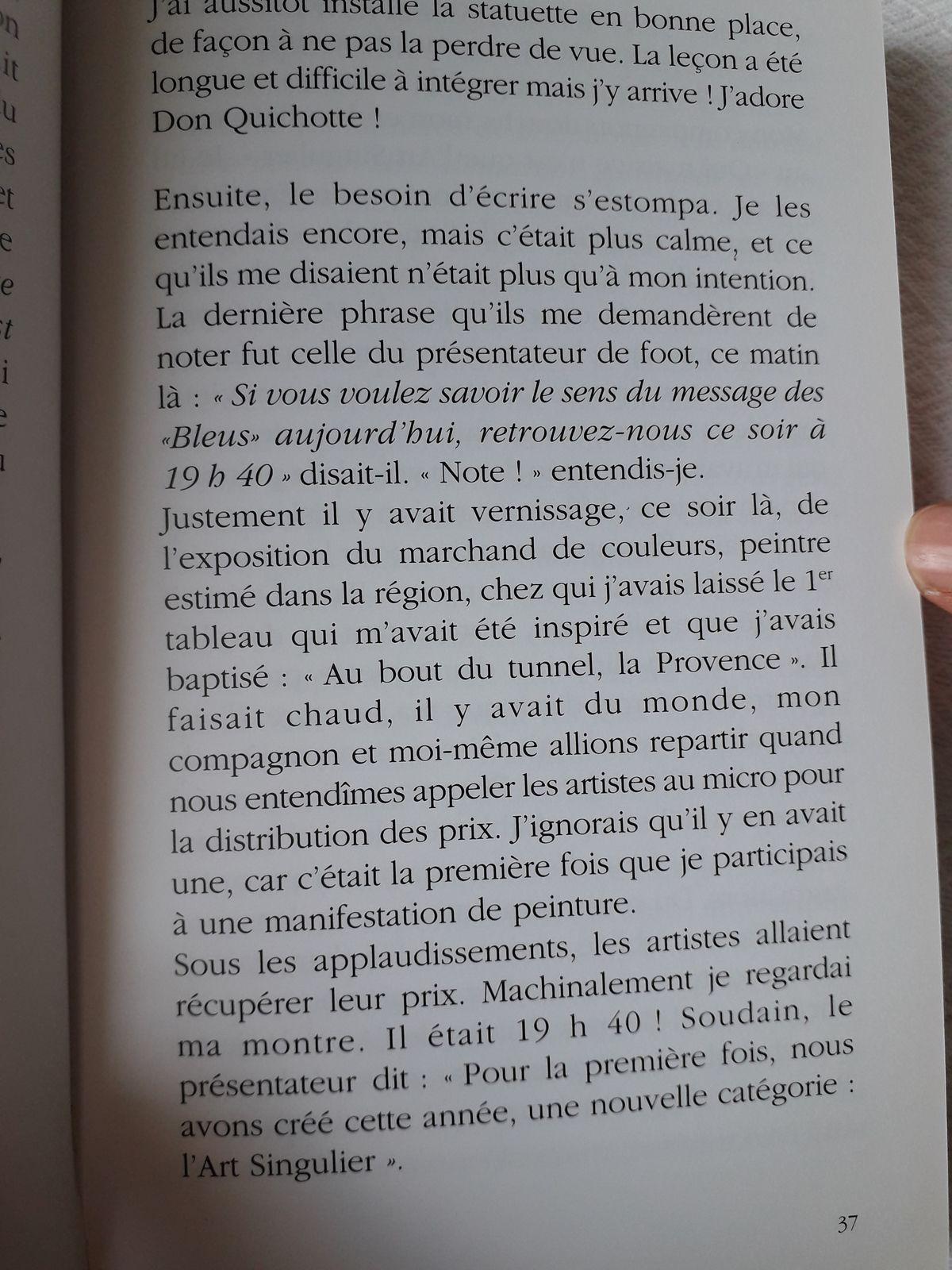Suite Pluie de Poussières d'Etoiles, page 34 à 37