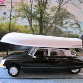 CITROEN DS 20 PALLAS 1973 RABBI JACOB LOUIS DE FUNES BATEAU GERMAINE 2 ELIGOR 1/43 DS CONFORT - car-collector.net