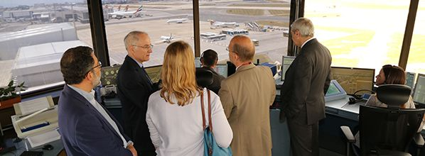 Visit to Portuguese Air Navigation Service Provider modernisation projects shows SESAR deployment in Portugal