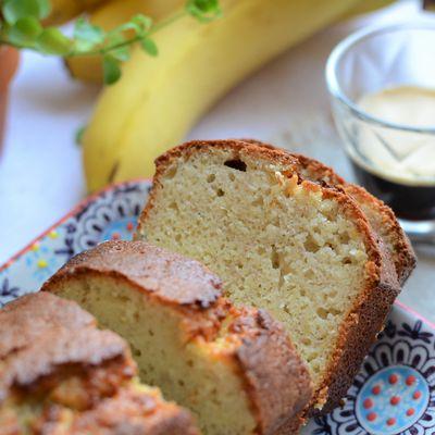 Cake à la banane et amandes #sans beurre