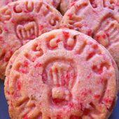 Mes petits biscuits aux pralines roses - Le blog de cuisineetcitations-leblog