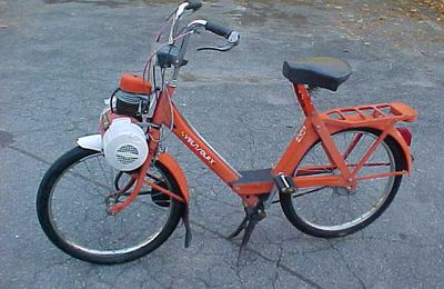 Welcome to my Velosolex Solex 4600 website!
