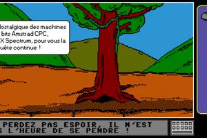 Hommage à l'Amstrad CPC - Orpheus sur Android (inspiré du jeu d'aventure Orphée)