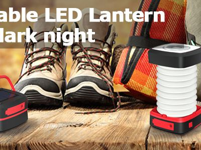 Test : lampe solaire nomade et pliable Globalink Outdoor Lantern