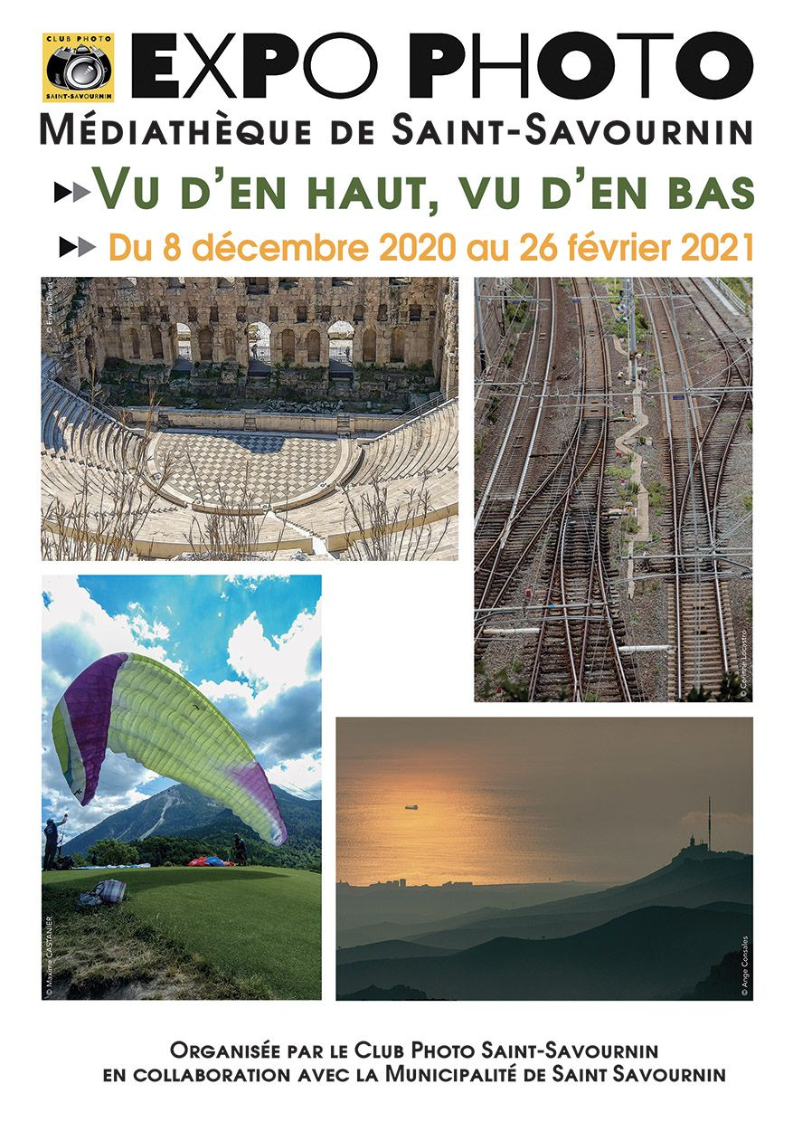 Expo photo Vu d'en haut, vu d'en bas
