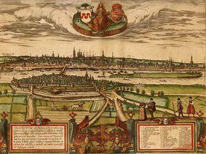 Enceinte-Pont-médiéval-sur la Meuse-Cartes-anciennes-Cl. wikipedia
