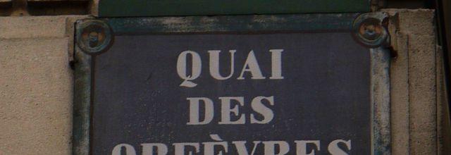 LES RUES DE PARIS (14) : QUAI DES ORFEVRES