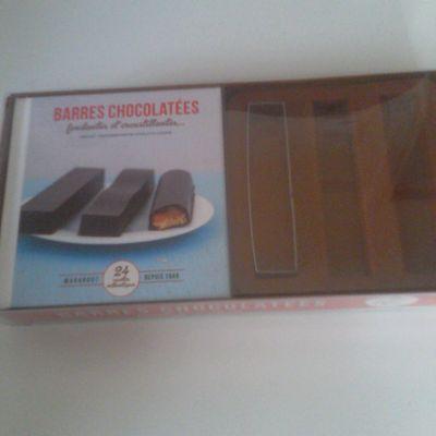 KIT BARRES CHOCOLATEES