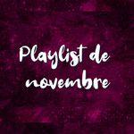 Playlist de novembre