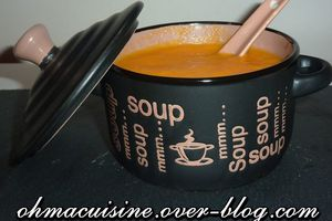 Soupe navets carottes