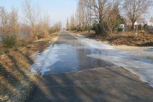 A déguster : la glace sur les rives du Rhône ... et le nougat !