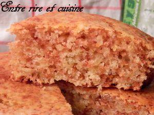 Gâteau moelleux au Citron, Thym-citron et Sirop de Thym Eyguebelle®
